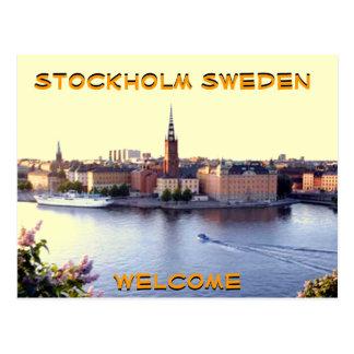 STOCKHOLM-SWEDEN(Mojisola A Gbadamosi Photography) Postcard