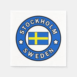 Stockholm Sweden Napkin