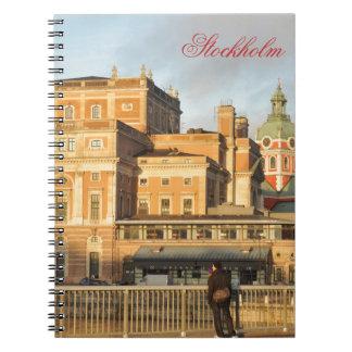 Stockholm, Sweden Notebook