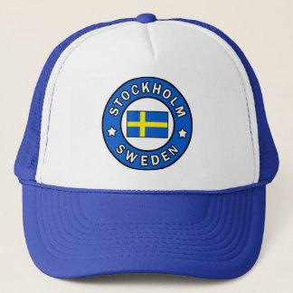 Stockholm Sweden Trucker Hat