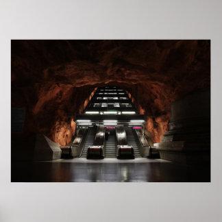 Stockholm Underground I Poster
