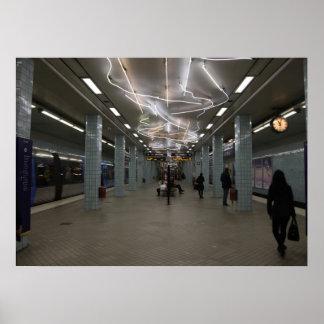 Stockholm Underground II Poster