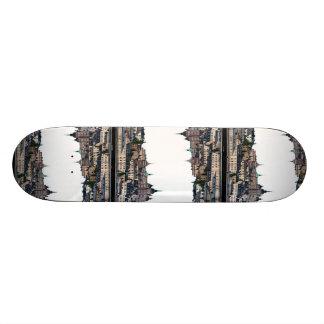 Stockholm view skateboard deck