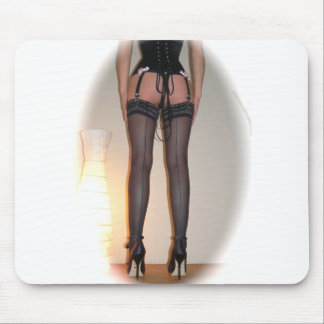 Stockings and High Heels Mouspad Mouse Pad