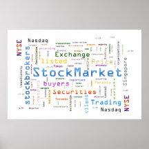 StockMarket Design Poster