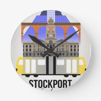 Stockport Round Clock