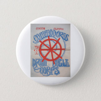 Stockton Commodores  Drum and Bugle Corps Poster 2 Inch Round Button