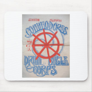 Stockton Commodores  Drum and Bugle Corps Poster Mouse Pad