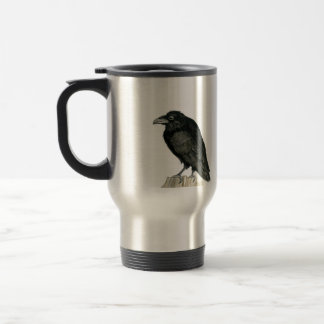Stocky Raven Travel Mug