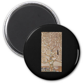 Stoclet Fries Tree Of Life Refrigerator Magnet