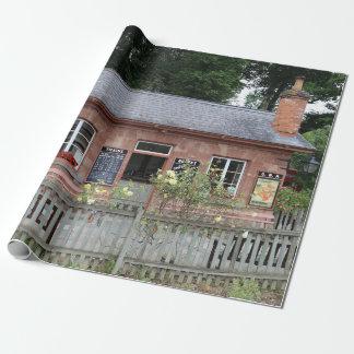 Stogumber station, Somerset UK Wrapping Paper