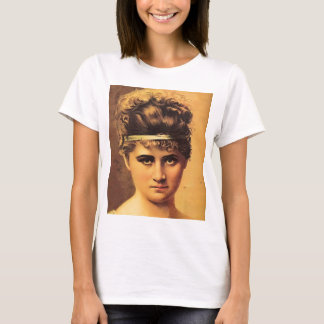 Stoic Girl with Intense Look T-Shirt