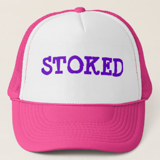 """STOKED"" Hat Pink/Purple"