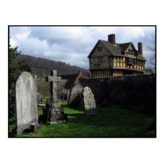 Stokesay Castle England Postcard