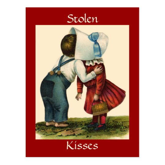 Stolen Kisses - Postcard