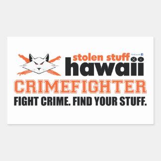 Stolen Stuff Hawaii Crimefighter Sticker