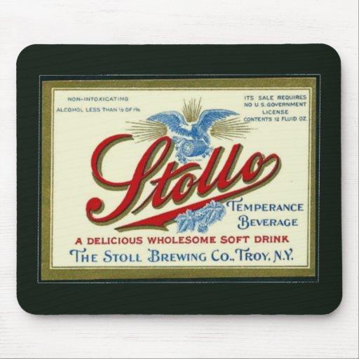 Stollo Vintage Prohibition Ad Mousepad