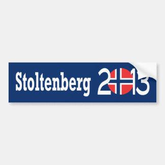 Stoltenberg 2013 bumper sticker