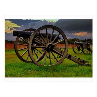 Stom over the Battlefield Postcard