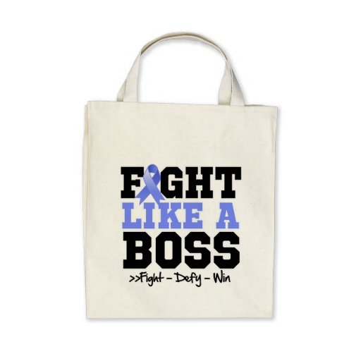 Stomach Cancer Fight Like a Boss Tote Bag