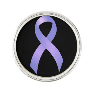 Stomach Cancer Periwinkle Ribbon Lapel Pin