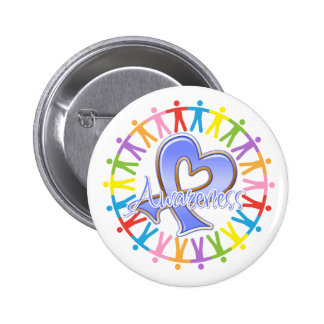 Stomach Cancer Unite in Awareness 2 Inch Round Button