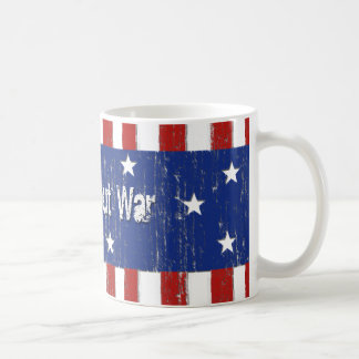 Stomp Out War Basic White Mug