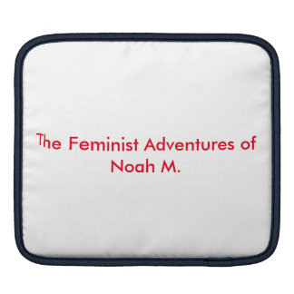 Stomp the Patriarchy Sleeves For iPads