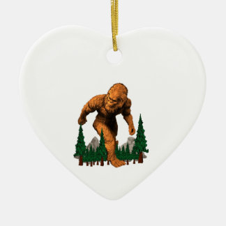Stomping Grounds Ceramic Ornament