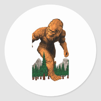 Stomping Grounds Classic Round Sticker