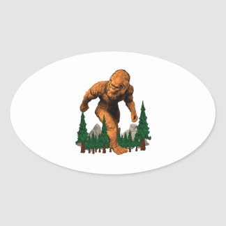 Stomping Grounds Oval Sticker