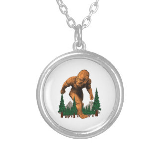 Stomping Grounds Silver Plated Necklace