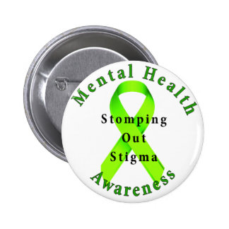 Stomping Out Stigma 2 Inch Round Button