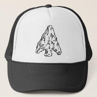 Stone Age Arrowhead Trucker Hat