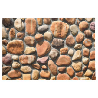 Stone and rock background doormat