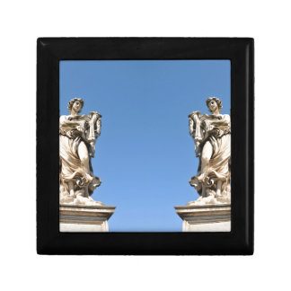 Stone angel in Rome, Italy Gift Box