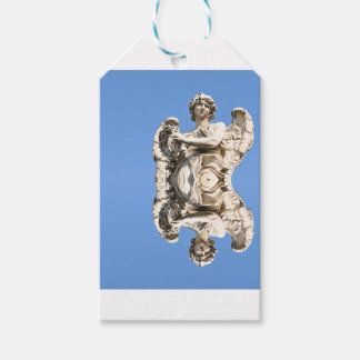 Stone angel in Rome, Italy Gift Tags