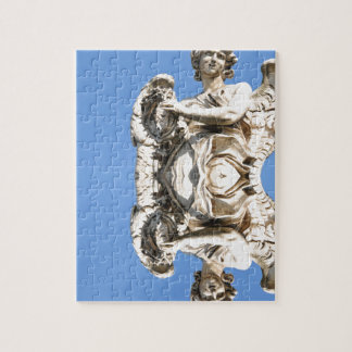 Stone angel in Rome, Italy Jigsaw Puzzle
