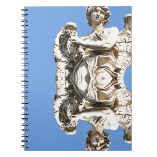 Stone angel in Rome, Italy Notebooks