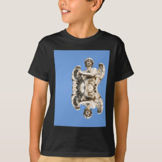 Stone angel in Rome, Italy T-Shirt