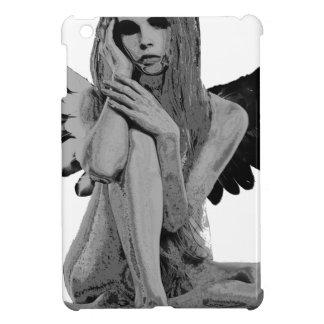 Stone angel iPad mini cases