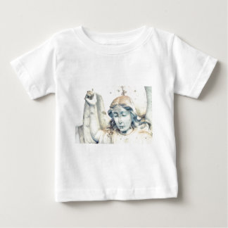 Stone angel portrait baby T-Shirt