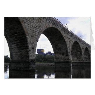 Stone Arch Bridge Card