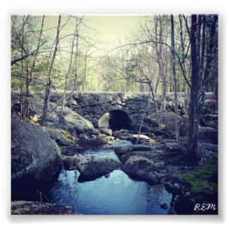 Stone Arch Bridge, Hillsboro New Hampshire Photo