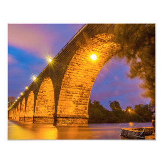 Stone Arch Bridge Photo Print