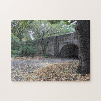 Stone Archway, Riverside Park New York City NYC Jigsaw Puzzle