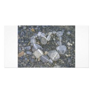 stone-art customized photo card