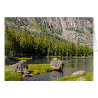 Stone At Madison River Card