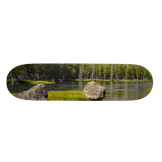 Stone At Madison River Custom Skateboard