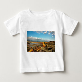 Stone beach on the island Pag in Croatia Baby T-Shirt